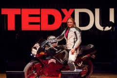 Eva Hakansson and ElectroCat at TEDxDU 2010.